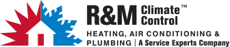R & M Climate Control Service Experts Logo